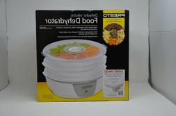 Presto 06300 Dehydro Electric Food Dehydrator, White NEW w/