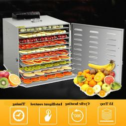 10 Tier Food Dehydrator Fruit Jerky Beef Dryer 1000W Digital