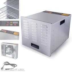10 Tray Commercial Stainless Steel Dry Food Fruit Dehydrator