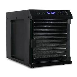 10 tray electric food dehydrator beef jerky