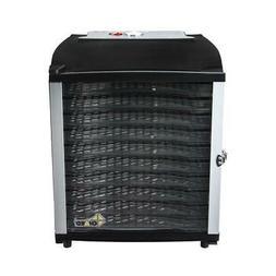 Chard Food Dehydrator Latched-Door Large Fan 10-Tray Design
