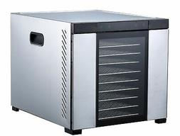 "Samson ""Silent"" 10 Tray ALL Stainless Dehydrator - Digital C"