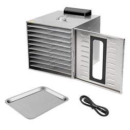 Orihat 10-Trays Electric Food Dryer/Preserver/Dehydrator Mac