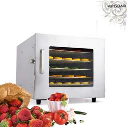 110/220V 6 Layer  Stackable Food Dehydrator Dried Fruit Mach
