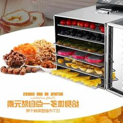 110/220V 6 Layers Food Dehydrator Fruit Vegetable Meat Dryin
