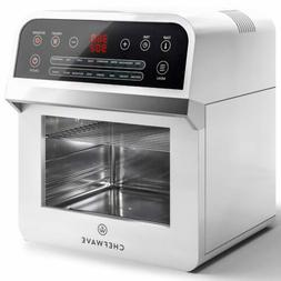 ChefWave 12.6 Quart Air Fryer with Dehydrator and Rotisserie
