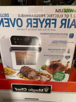 12.7-QT Electric Air Fryer Oven w/Rotisserie & Dehydrator+10
