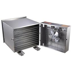 1200W 10Tray Commercial Stainless Steel Food Fruit Jerky Dry