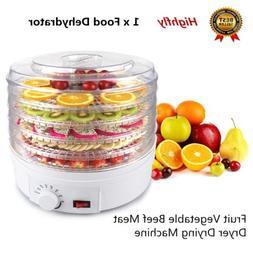 220V 350W Electric Home Food Dehydrator Fruit Vegetable Drye