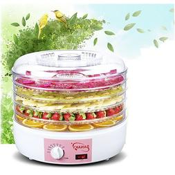 220V Electric Food Fruit Dehydrator Preserver Airflow Circul