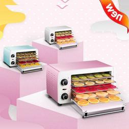 220V Food Fruit Dehydrator Vegetable Herb Meat Drying Machin