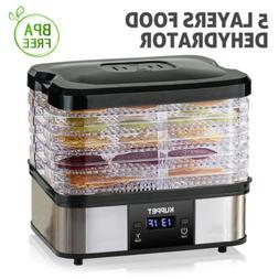 250W 5 Tray Electric Food Dryer Dehydrator Machine Fruit Bee