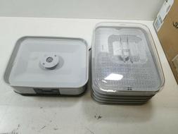 32100A Digital Food Dehydrator, 5 Tray, Gray Kitchen &amp Di