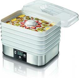 32100C Food Dehydrator, White 1-PACK, white