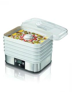 Hamilton-Beach 32100C Food Dehydrator, white