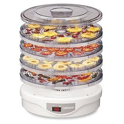 Proctor Silex 32120 Food Dehydrator Machine for Jerky, Fruit