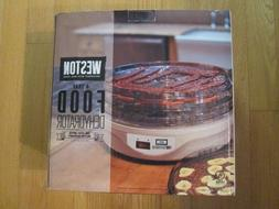 4 tier food dehydrator 75 0601 w