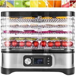 VIVOHOME 400W 5 Tray Food Dehydrator Preserver Fruit Vegetab