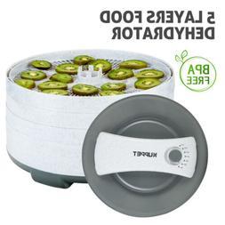 450W 5 Tray Electric Food Dryer Dehydrator Machine Fruit Bee