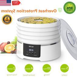 450W Electric Food Dehydrator Preserver 6 Trays Digital Frui