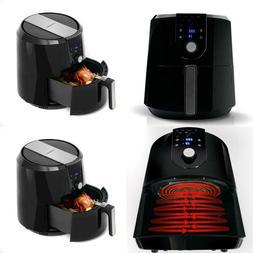 5.5 Qt. 1800-Watt Digital Display Electric Hot Air Fryer