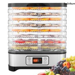 5/7/8 Trays Food Dehydrator Machine, Digital Timer & Tempera