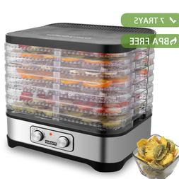 5 7 tier trays electric food dehydrator