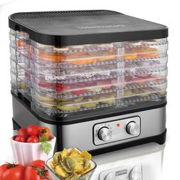 Electric 5-7 Tray Food Dehydrator Fruit Vegetable Beef Meat