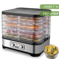 5/7 Tray Food Dehydrator Machine Professional Electric Fruit