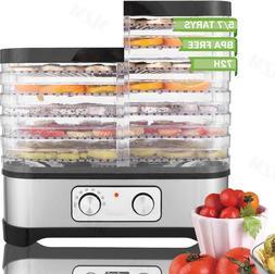 5/7 Trays Stainless Steel Food Dehydrator For Beef Jerky, He
