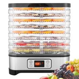 8 Trays Electric Food Dehydrator Machine Meat/Fruit/Beef Dry