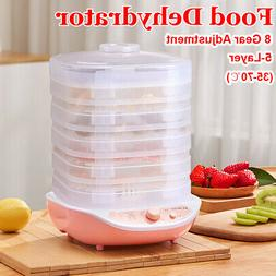 220V 5 Layers Food Dehydrator Fruit Vegetable Meat Drying Ma