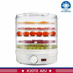 5 Tier Electric Food Dehydrator Machine 31CM 350W Fruit Drye