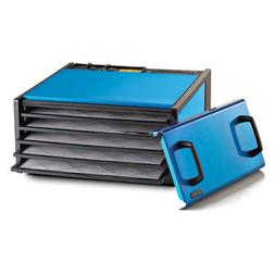 5 Tray Dehydrator with Timer Color: Blueberry