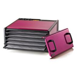 5 Tray Dehydrator with Timer Color: Raspberry