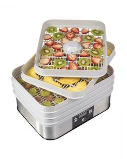 5 Tray Digital Food Dehydrator Machine, 48h Timer, Thermosta