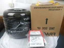 Ronco 5-Tray Electric Food Dehydrator 1876 Dial-O-Matic Cutt
