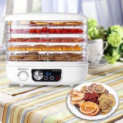 5 tray electric food dehydrator beef jerky