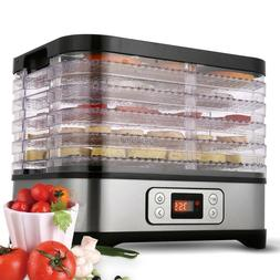 5 Tray Electric FOOD DEHYDRATOR Beef Jerky Snack Machine Fru