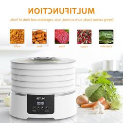 5-Tray Electric Food Dehydrator for Jerky Snack Fruit Beef V