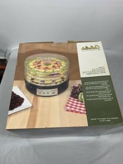 Cabelas 5 Tray Electric Food Dehydrator With 12 Hour Timer /
