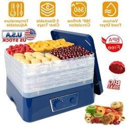 5 Tray Electric Food Dryer Dehydrator Preserver Machine Frui