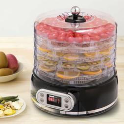 VIVOHOME 5 Tray Food Dehydrator Adjustable Fruit Dryer Meat
