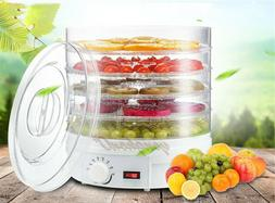 5 Tray New Electric Food Dehydrator Fruit Vegetable Dryer Be