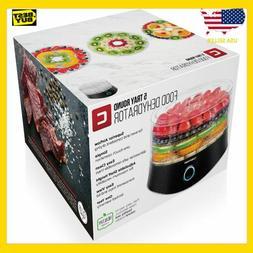 CHEFMAN 5 Tray Round Food Dehydrator Electric Multi-Tier Bee