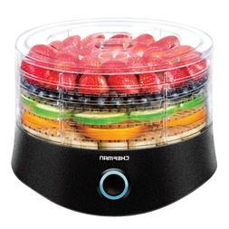 Chefman 5 Tray Round Food Dehydrator, Professional Electric