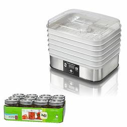 Hamilton Beach 500 Watt 5 Tray Stacking Countertop Food Dehy