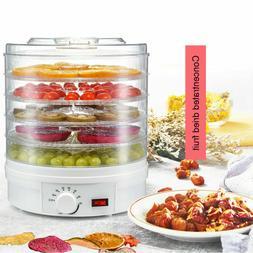 5 Trays Food Dehydrator Fruit Vegetable Meat Dryer Home Kitc