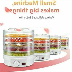 5 Trays Food Dehydrator Fruit Vegetable Meat Dryer Drying Ma