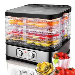5-Trays Food Dehydrator Machine Electric Multi Tier Fruit Ve